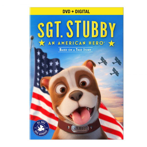 Sgt. Stubby DVD Cover