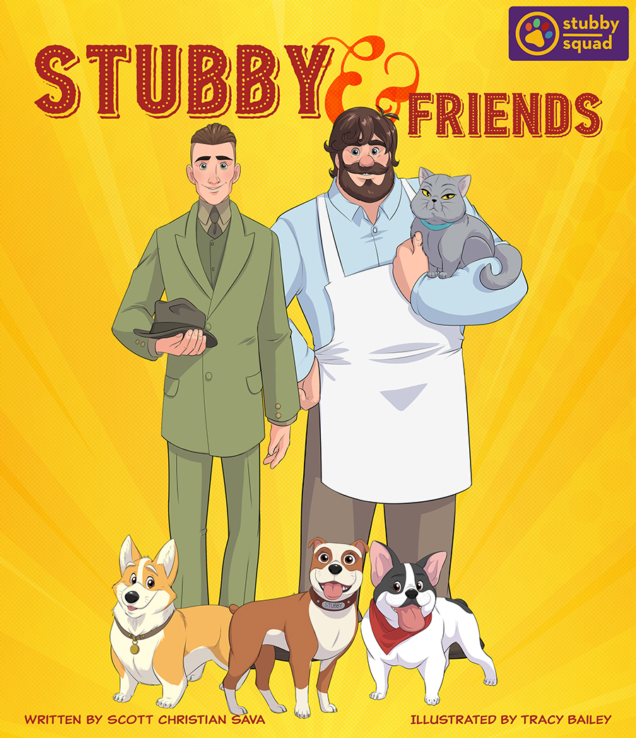 The Adventures of Sgt. Stubby and Friends. Free weekly comic.