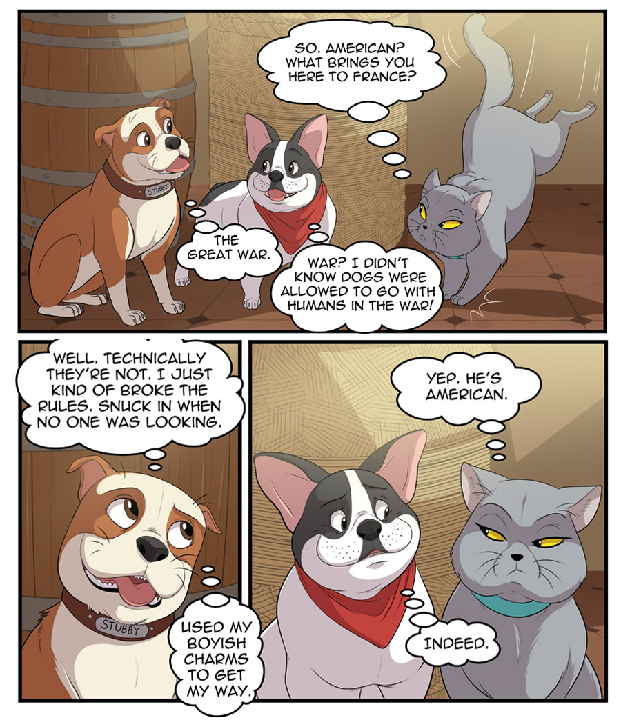 Stubby and Friends Comic Week 1 Page 2
