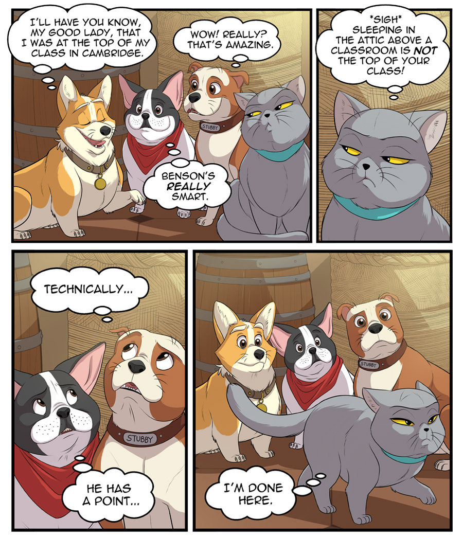 Stubby and Friends Comic Week 1 Page 5