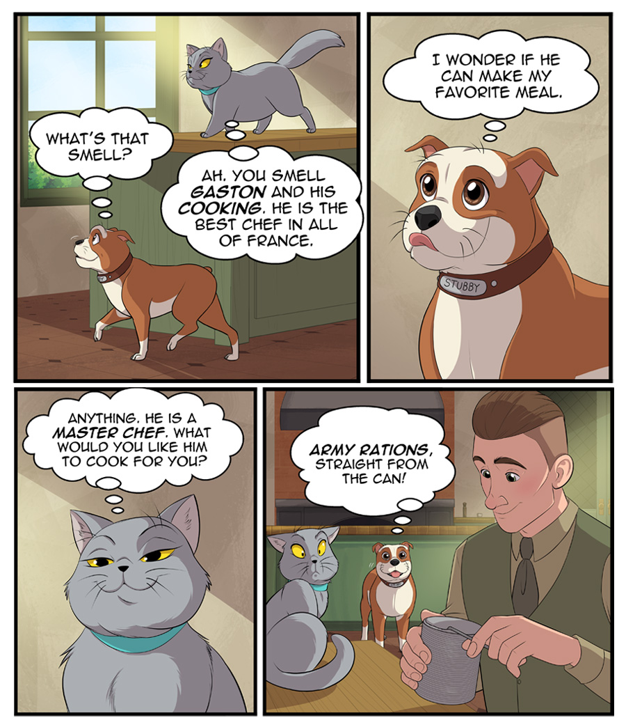 Stubby and Friends Comic Week 2 Page 1