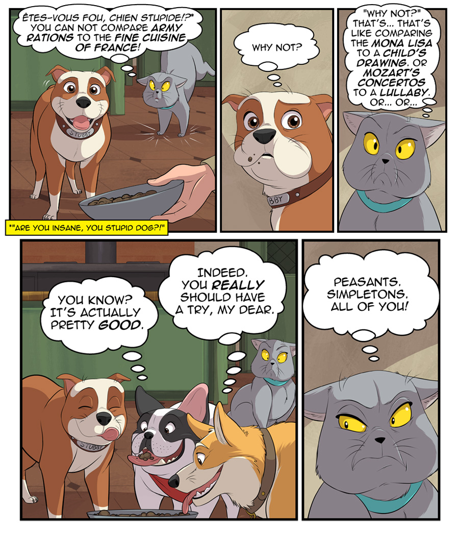 Stubby and Friends Comic Week 2 Page 2