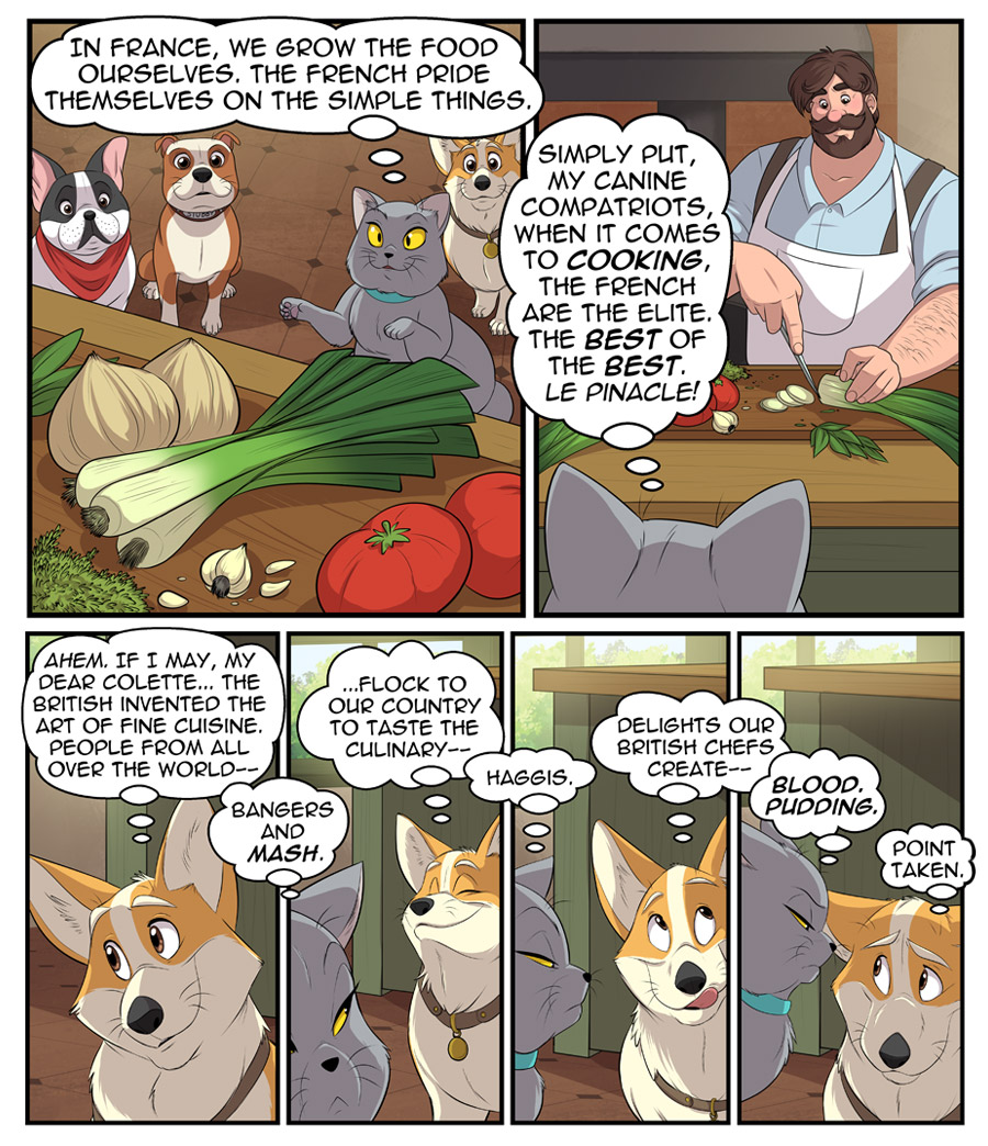 Stubby and Friends Comic Week 2 Page 3