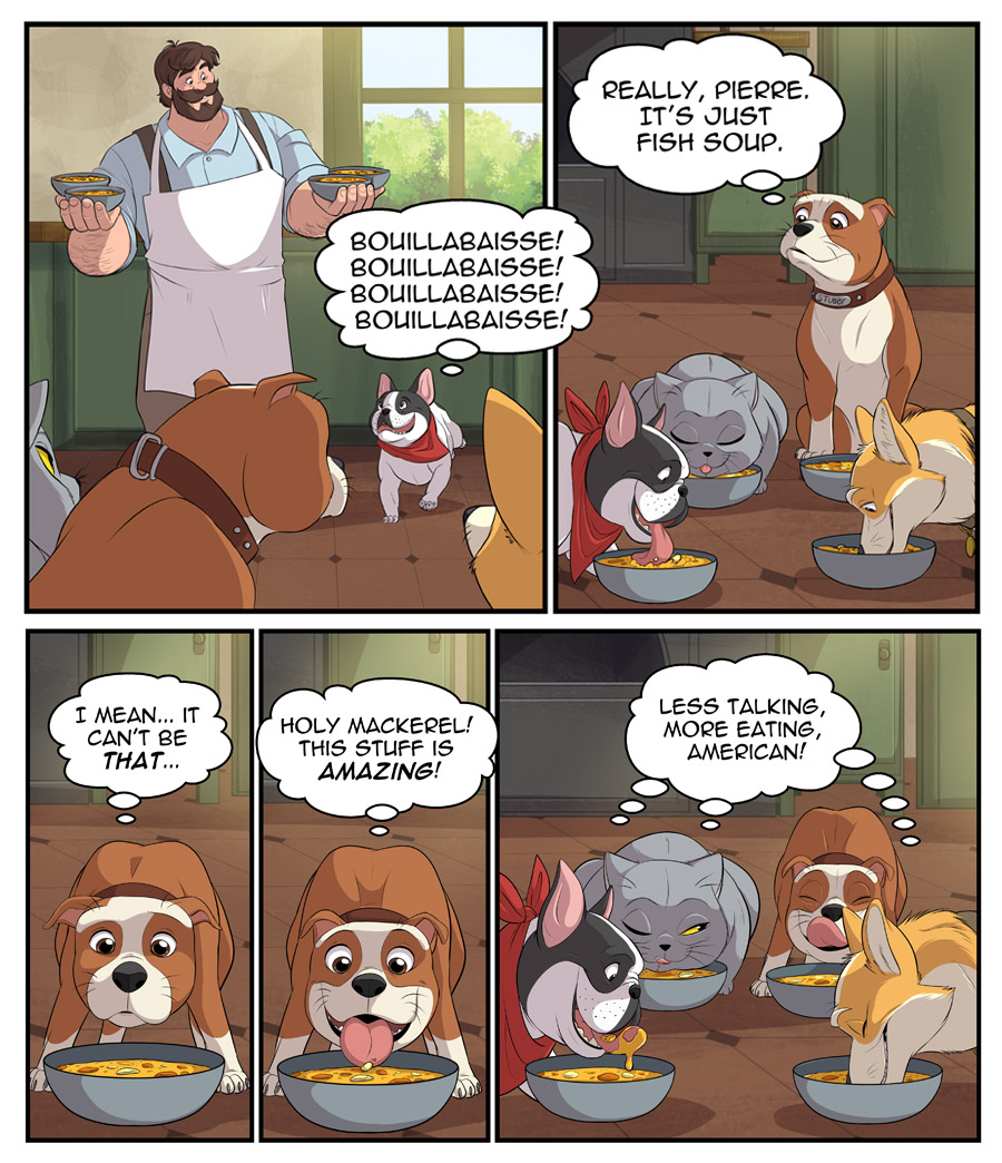 Stubby and Friends Comic Week 2 Page 5