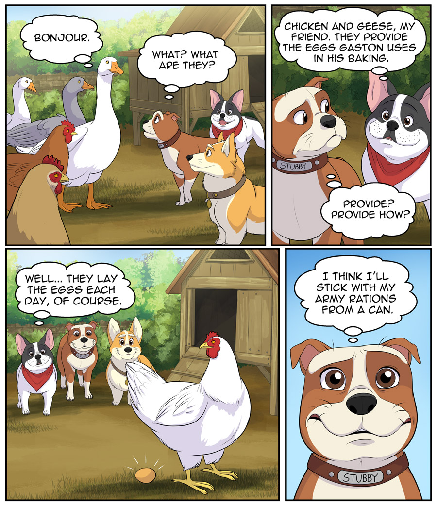Stubby and Friends Comic Week 3 Page 3