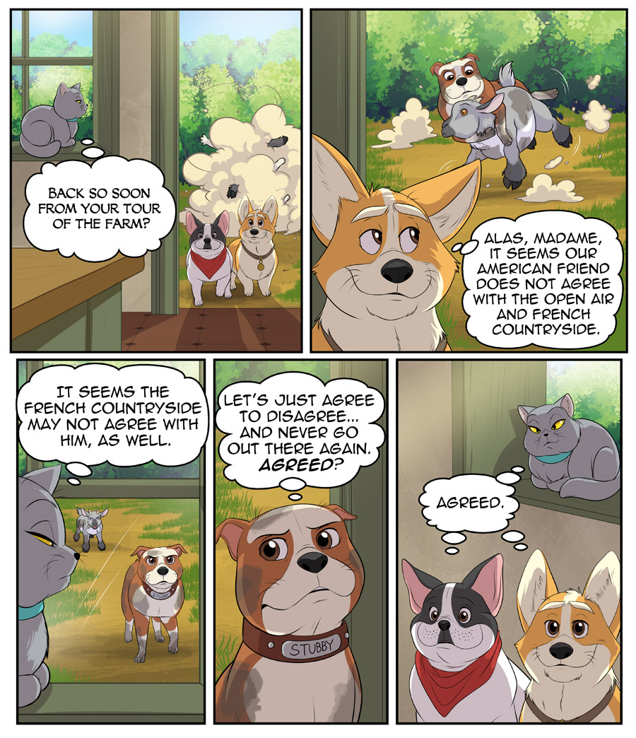 Stubby and Friends Comic Week 3 Page 5