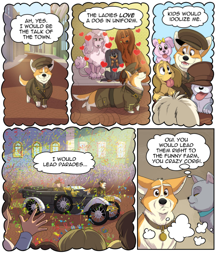 Stubby and Friends Comic Week 4 Page 2