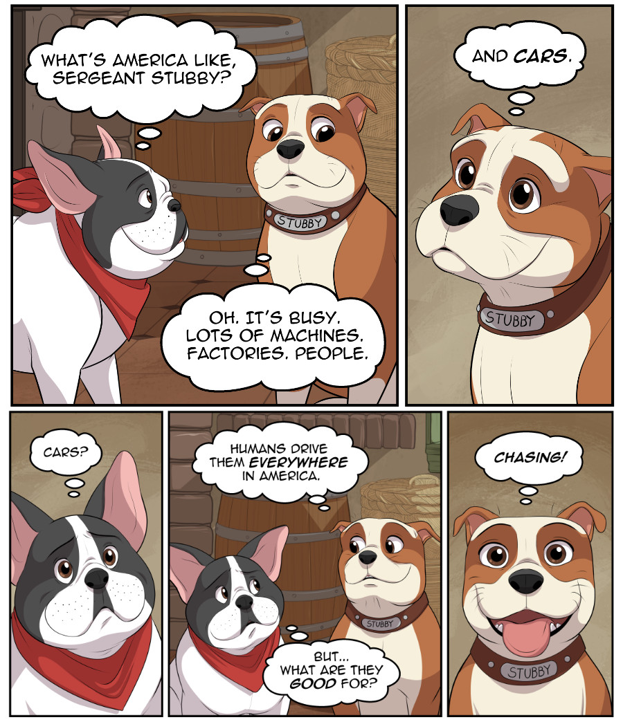 Stubby and Friends Comic Week 6 Page 2