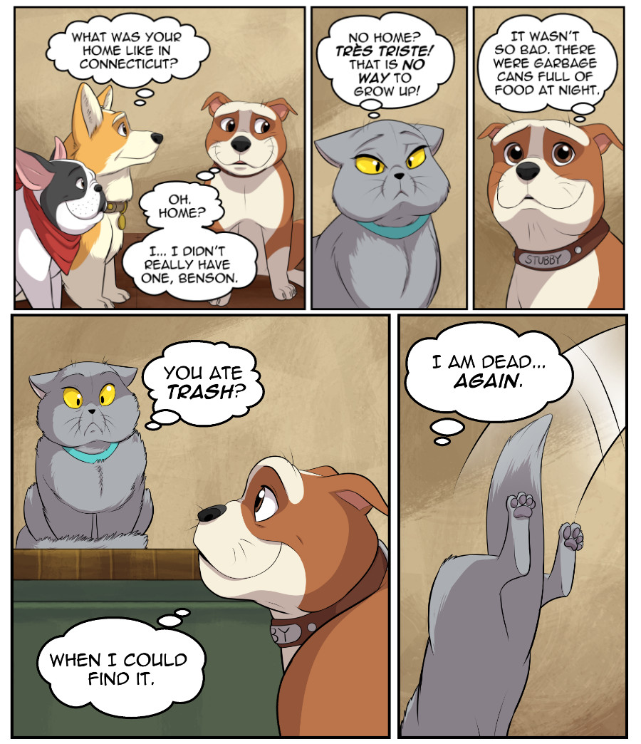 Stubby and Friends Comic Week 6 Page 3
