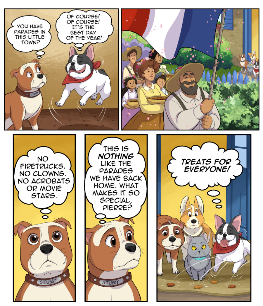 Stubby and Friends Comic Week 7 Page 2