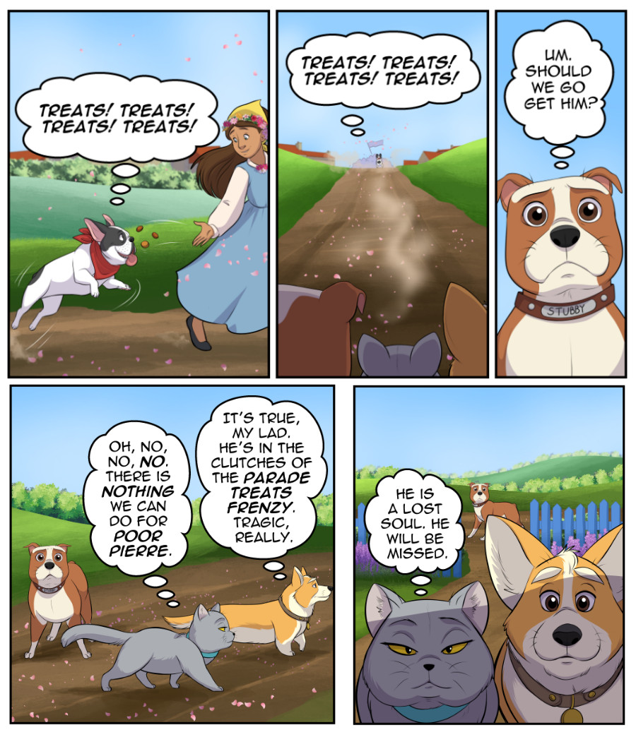 Stubby and Friends Comic Week 7 Page 3