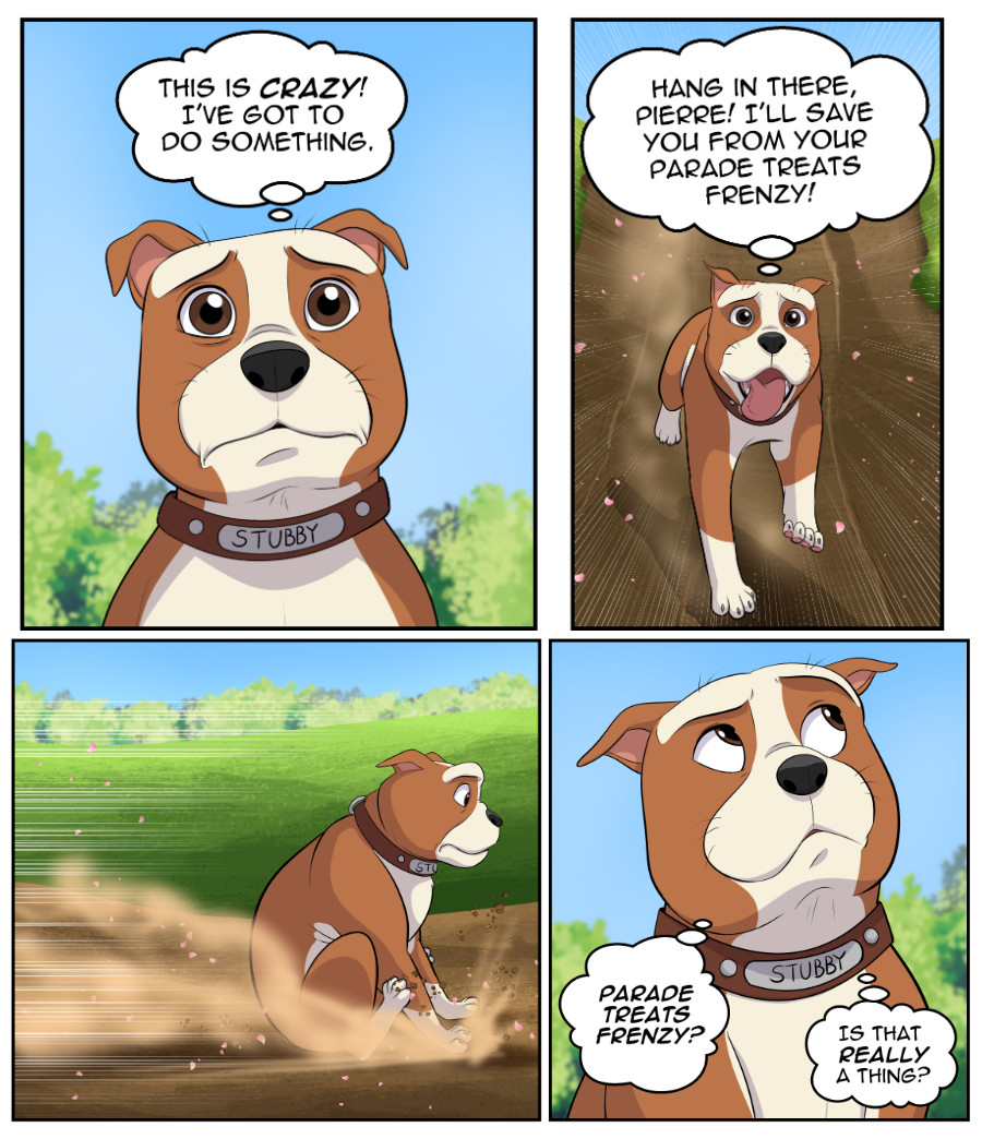 Stubby and Friends Comic Week 7 Page 4