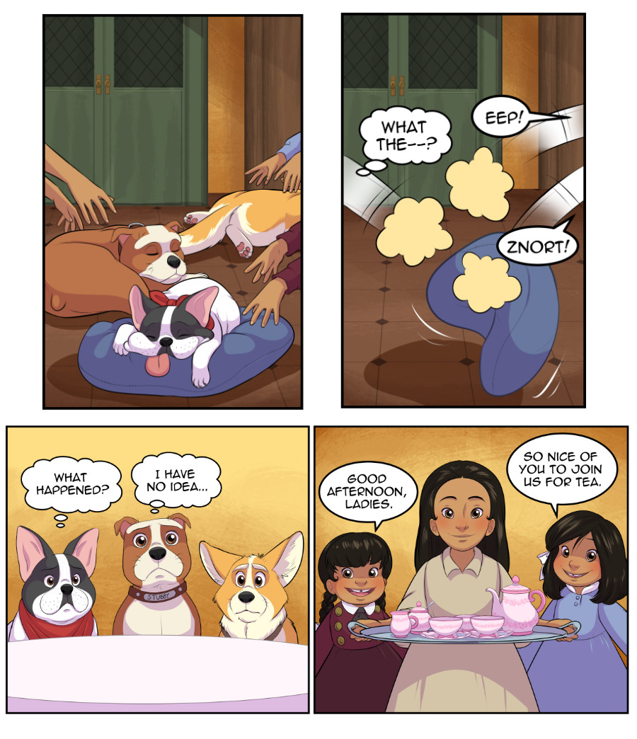 Stubby and Friends Comic Week 8 Page 1