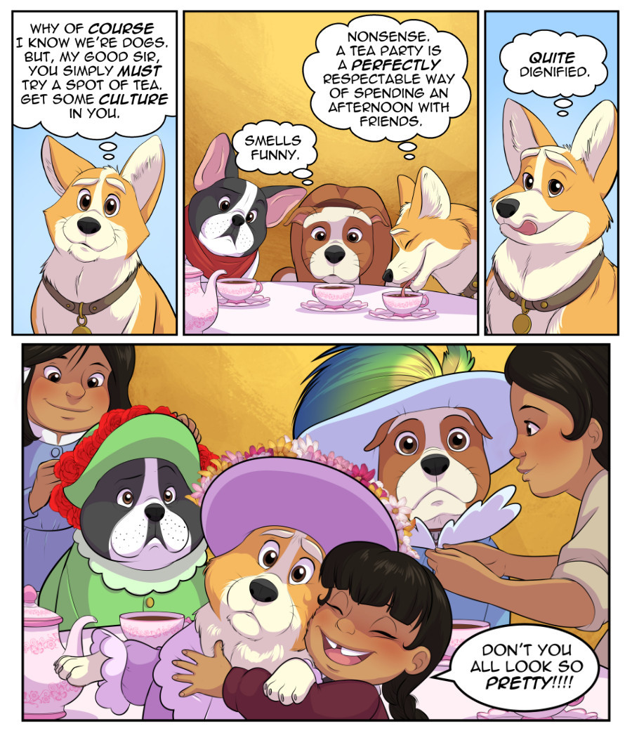Stubby and Friends Comic Week 8 Page 3