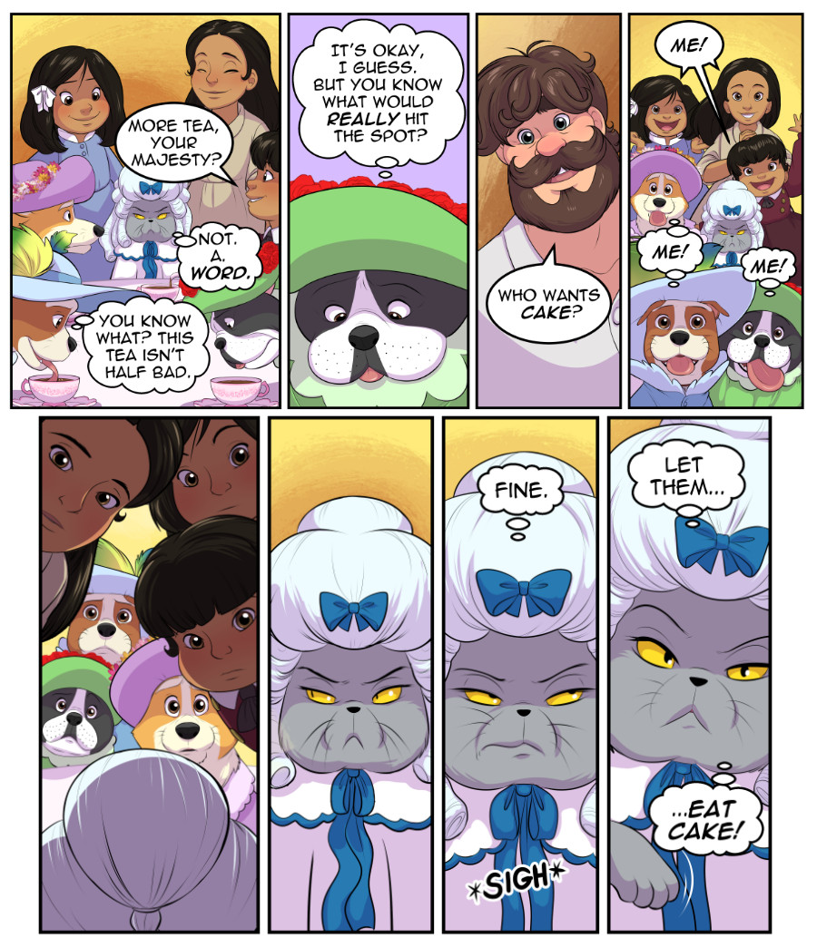 Stubby and Friends Comic Week 8 Page 5