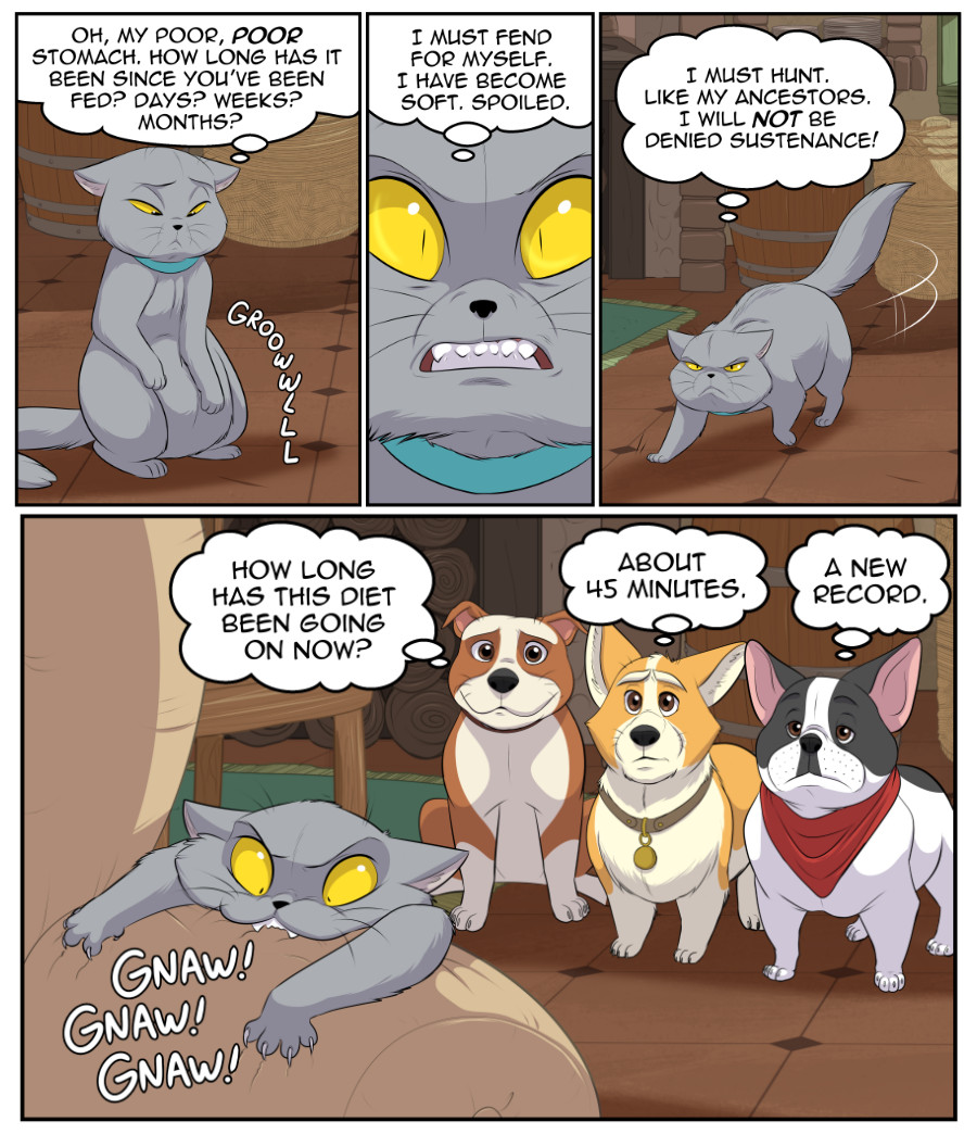 Stubby and Friends Comic Week 9 Page 3